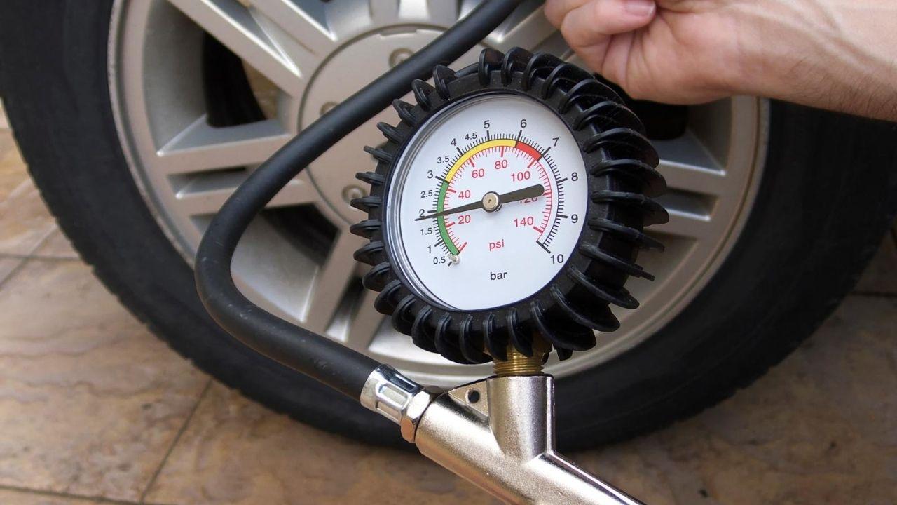 trailer tyre pressure