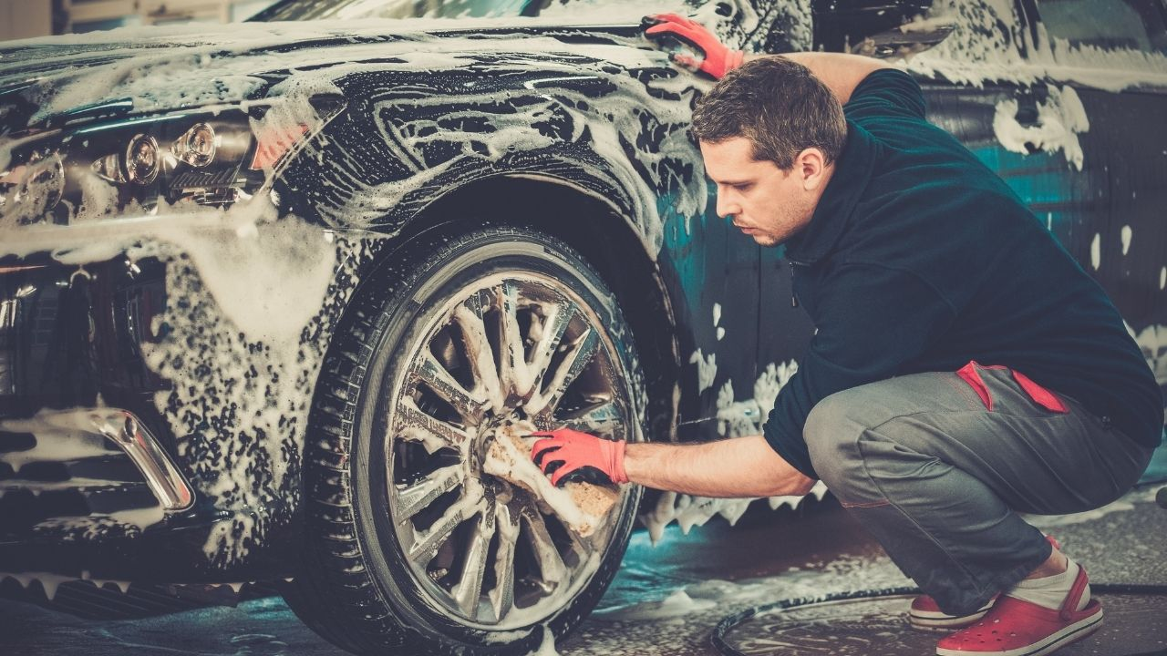 products you need to clean your car